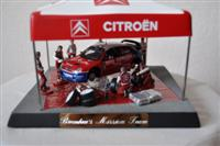 Citroen Pit Stop toy presented to Rev Brendan